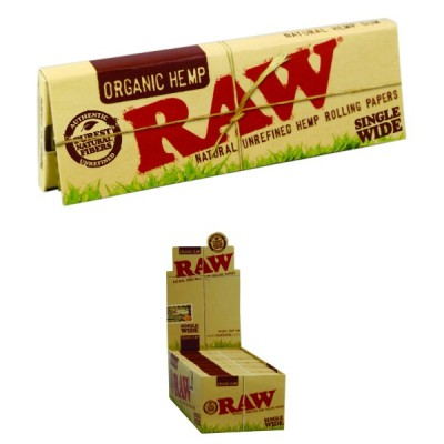 RAW ORGANIC SINGLE WIDE...