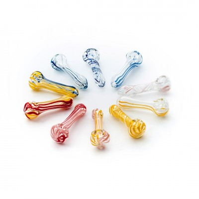 GLASS PIPE - MEDIUM 11CM -...