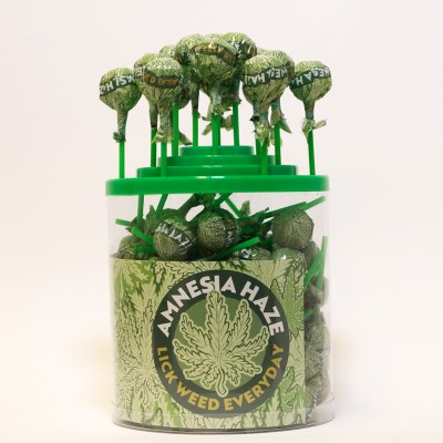 CANNABIS LOLLIPOPS -...