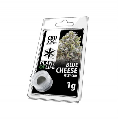 22% JELLY 1G BLUE CHEESE