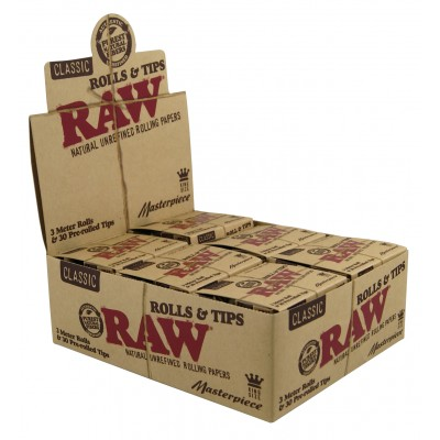 RAW MASTERPIECE ROLLS +...