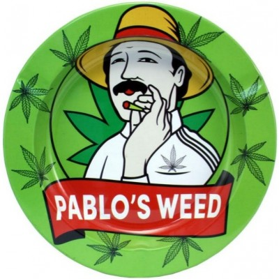 METAL TIN ASHTRAY - PABLO'S...
