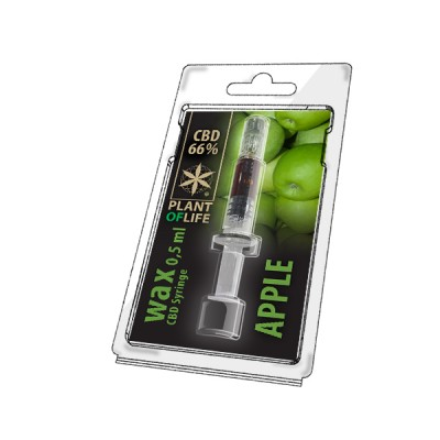WAX 66% APPLE 0,5ML