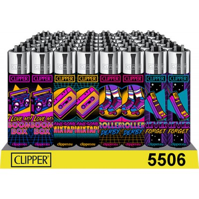 CLIPPER LIGHTERS RETRO WAVE...