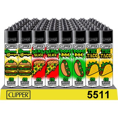 CLIPPER LIGHTERS 420 FOOD...