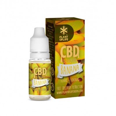 E-LIQUID BANANA CBD 1% 10ML