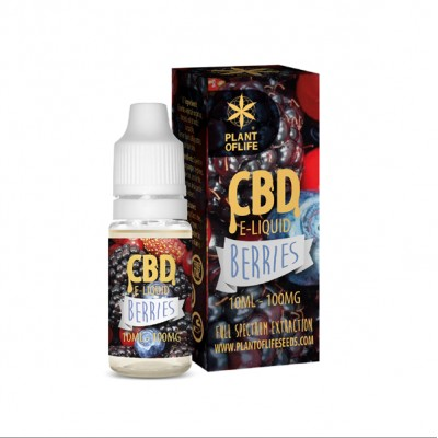 E-LIQUID CBD 1% BERRIES...