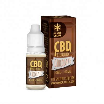 E-LIQUID CHOCOLATE CBD 1% 10ML