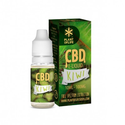 E-LIQUID KIWI CBD 1% 10ML