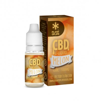 E-LIQUID MELON CBD 1% 10ML