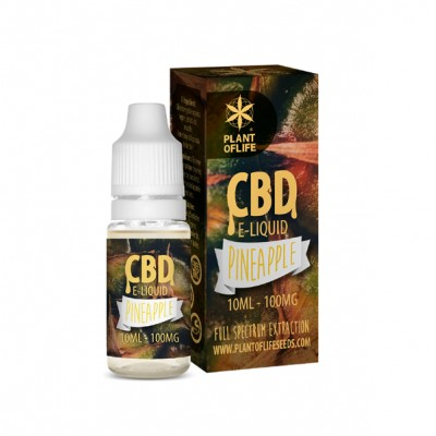E-LIQUID PINEAPPLE CBD 1% 10ML