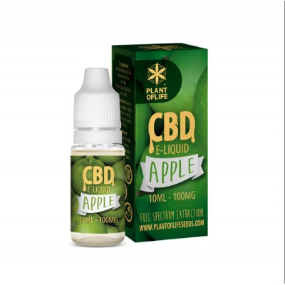 E-LIQUID CBD 1% APPLE...