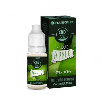 E-LIQUID CBD 3% APPLE...
