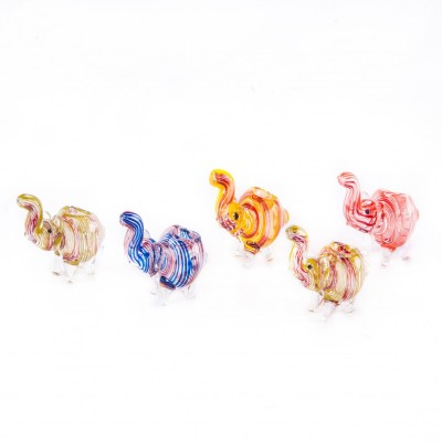 GLASS PIPE - MEDIUM 10CM -...