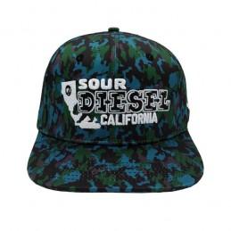 SOUR DIESEL 420 CAMO CAP -...