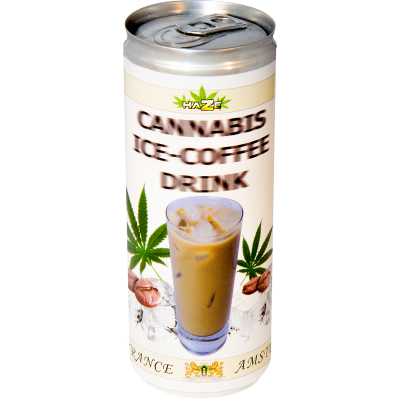 CANNABIS ICE COFFEE DRINK...