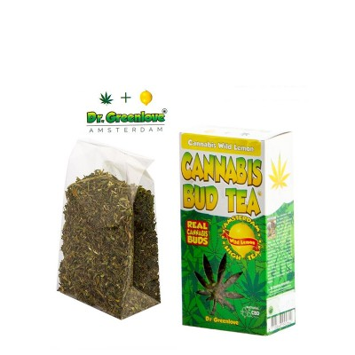 CANNABIS BUD TEA LEMON -...
