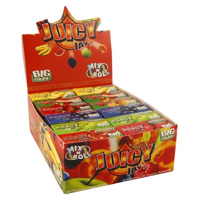 JUICY JAY'S MIX FLAVORS...