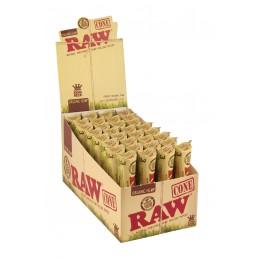 RAW ORGANIC 3 CONE X32 STK