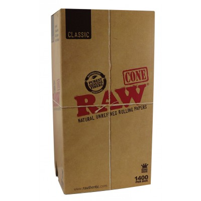 RAW PREROLLED KS CONE X1400...