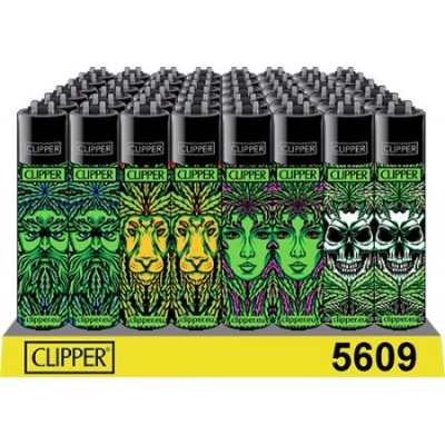 CLIPPER LIGHTERS 420 LEAF...