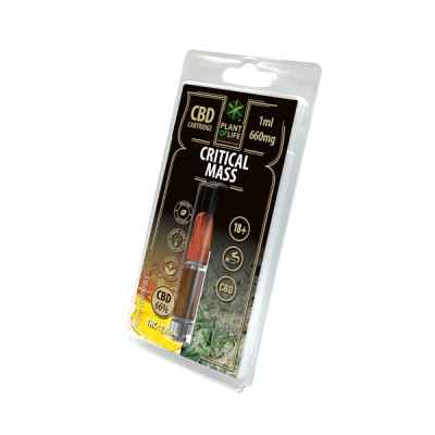 CARTRIDGE CRITICAL 1ML 66% CBD