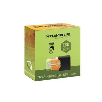 POD CBD WAX 66% KIWI 0,75ML