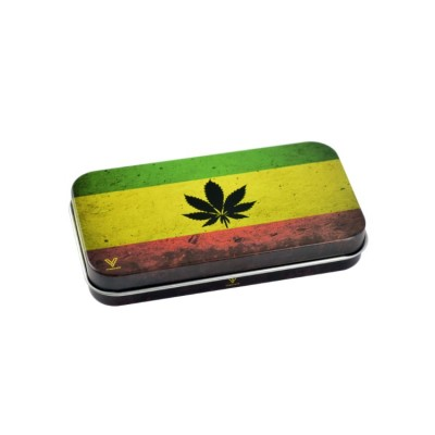 SYNDICASE TIN BOX - RASTA LEAF