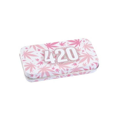 SYNDICASE TIN BOX - 420 PINK