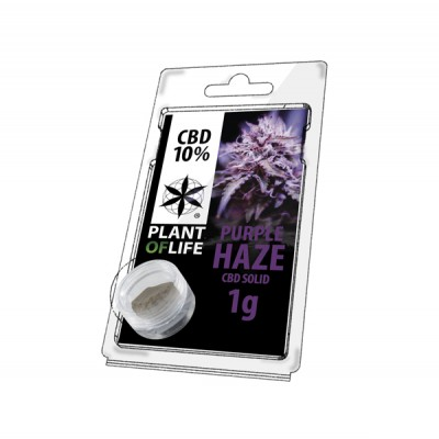 10% SOLID 1G PURPLE HAZE