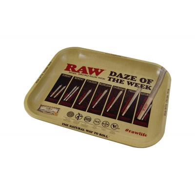 RAW METAL TRAY SMALL FOREST...