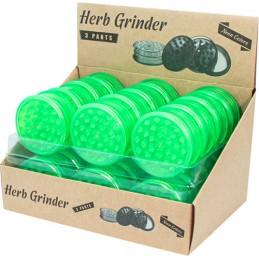 PLASTIK GRINDER GREEN NEON...