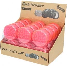 PLASTIC GRINDER PINK NEON...