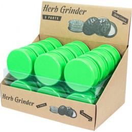 PLASTIC GRINDER GREEN SOLID...