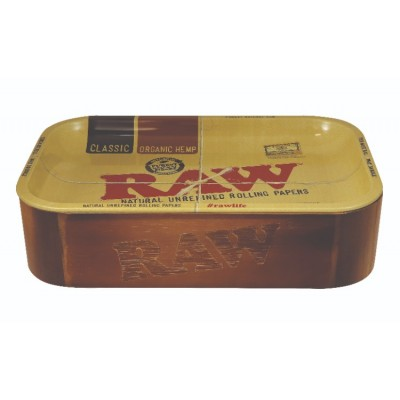 RAW WOODEN CACHE BOX WITH...