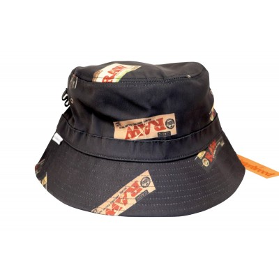 RAW X INTERBREED BUCKET HAT...