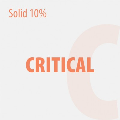 BULK SOLID 10% CRITICAL