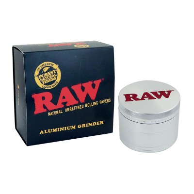 RAW ALUMINUM GRINDER - 56MM...