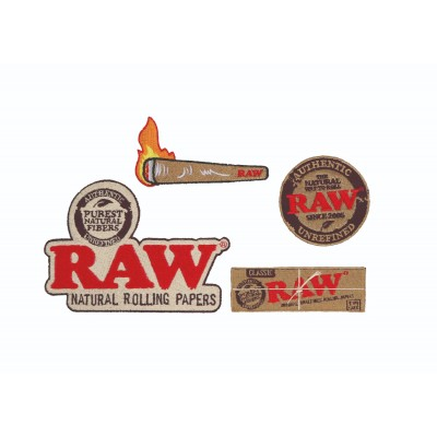 RAW PATCHES - PACK WITH 4...