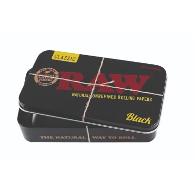 RAW METAL TIN CASE - 6...