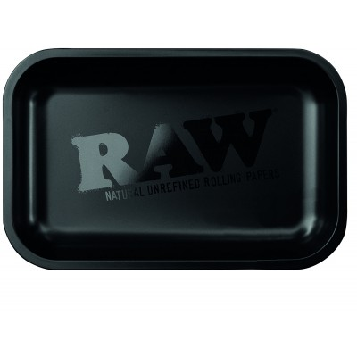 RAW METAL TRAY SMALL BLACK...
