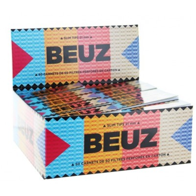 BEUZ FILTER SLIM TIPS X 50PCS