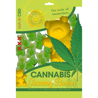 CANNABIS GUMMY BEARS - 100G...