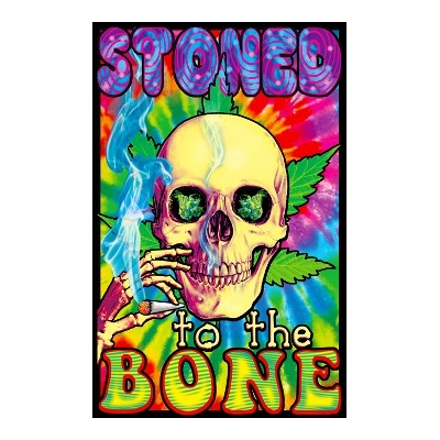 UV POSTER - STONED TO THE BONE