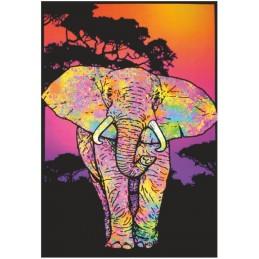 UV POSTER - ELEPHANT
