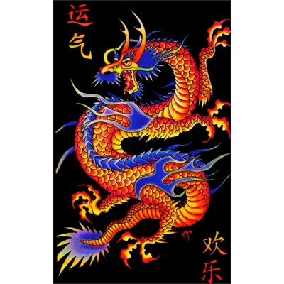 UV POSTER - ASIAN DRAGON
