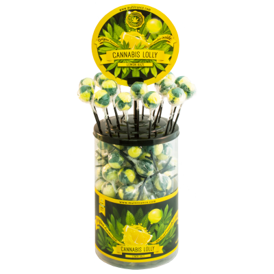 CANNABIS LOLLY - LEMON HAZE...