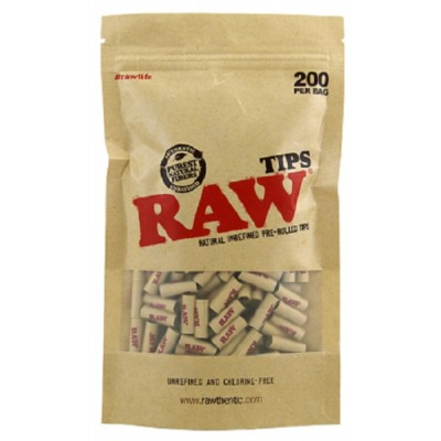 RAW PREROLLED UNREFINED...