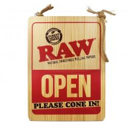 RAW Hanging Door Wood Sign...