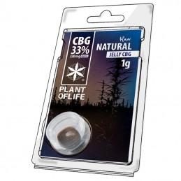 JELLY 33% CBG RAW NATURAL 1G